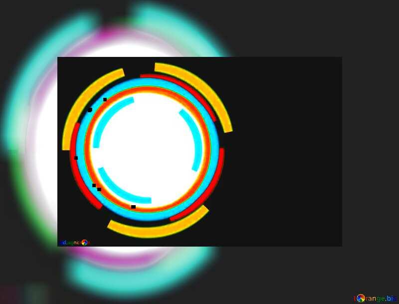 Infographics circle frame №49680