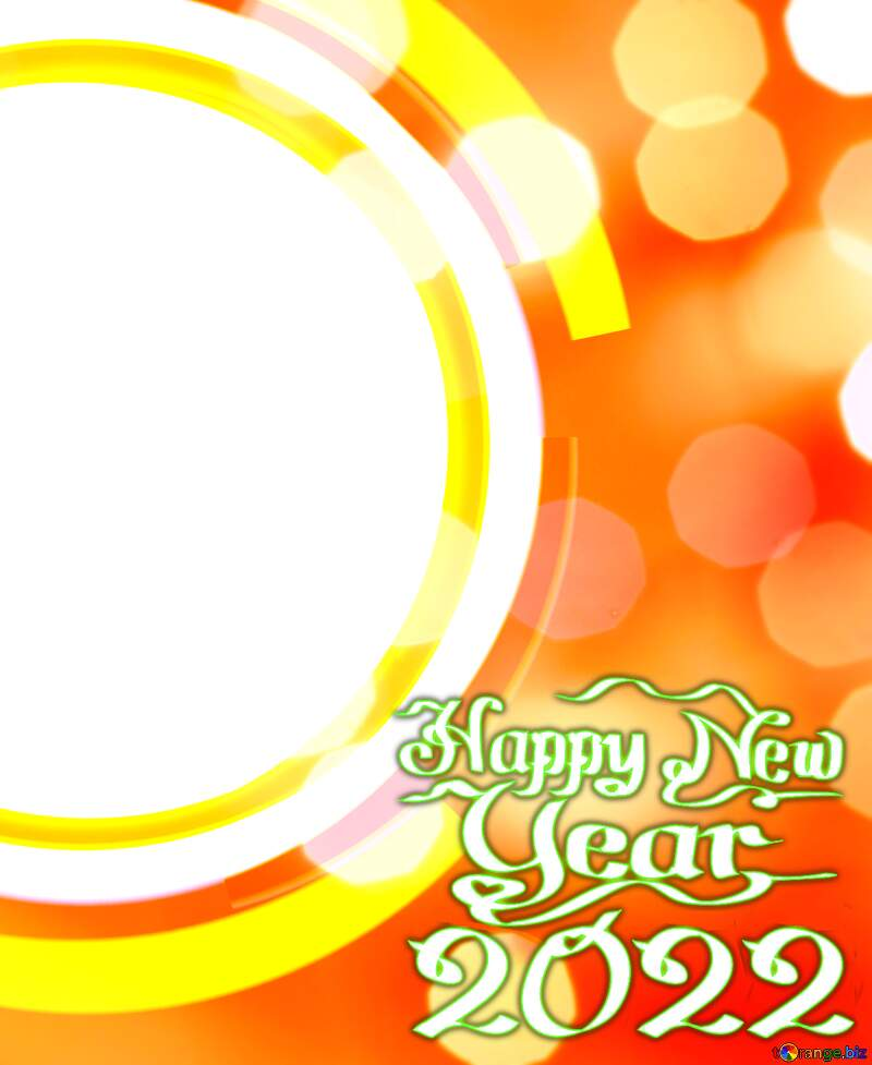 Infographics circle frame New Year Background №49680