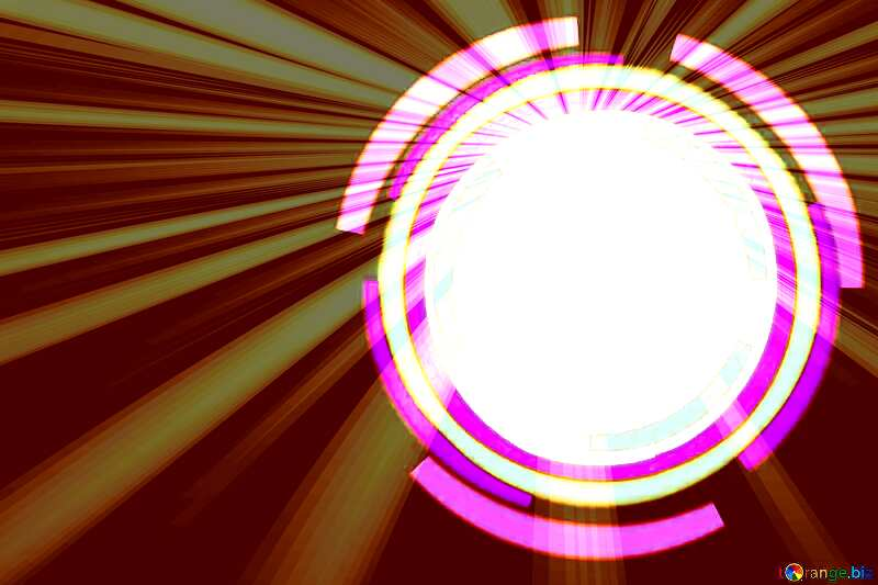 Infographics circle frame Rays  Background №49680
