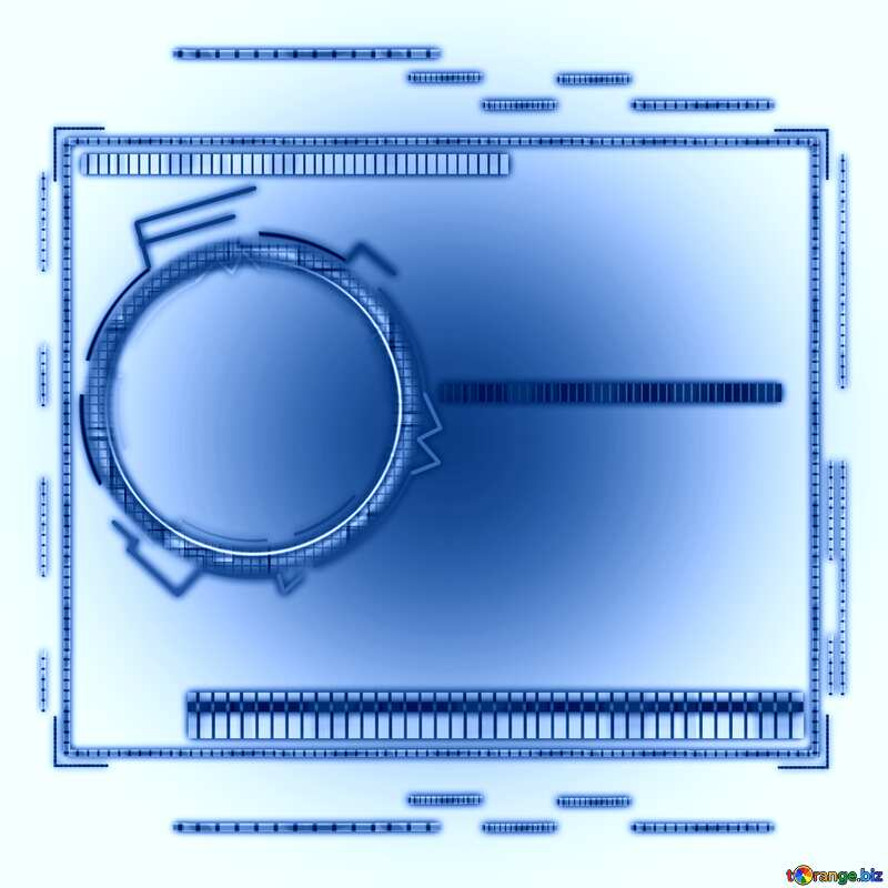 Lighten blue  template virtual graphic futuristic background №49679
