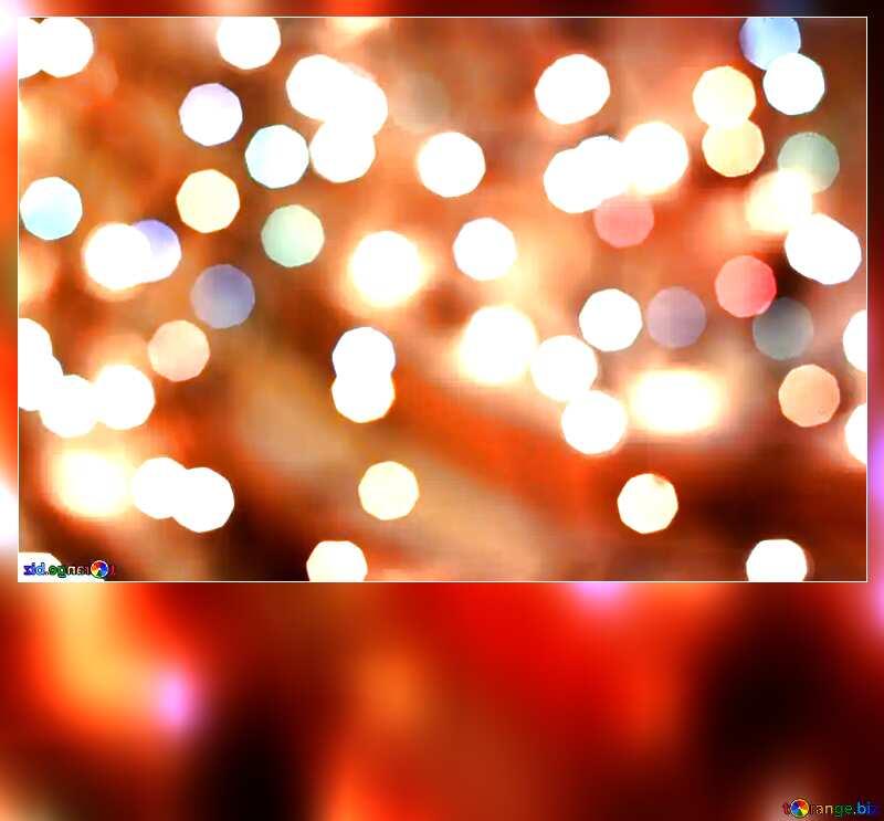 Christmas blank card background №24617