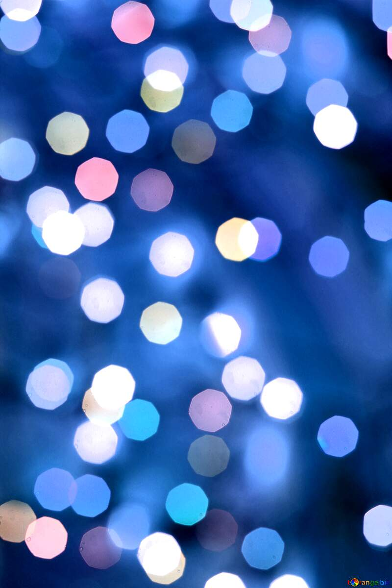 Deep blue Christmas background №24617
