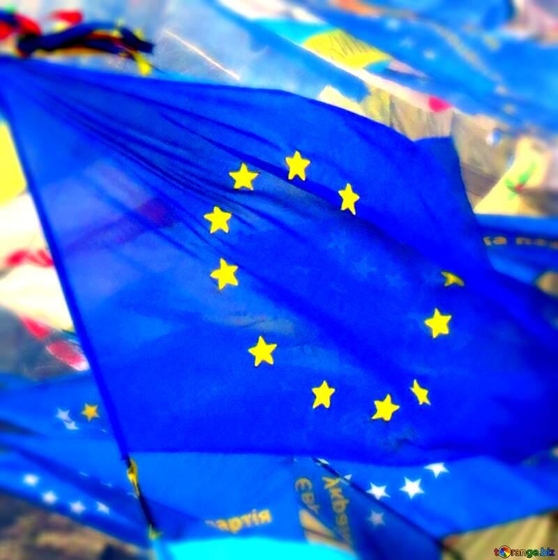Euro Flag №27787