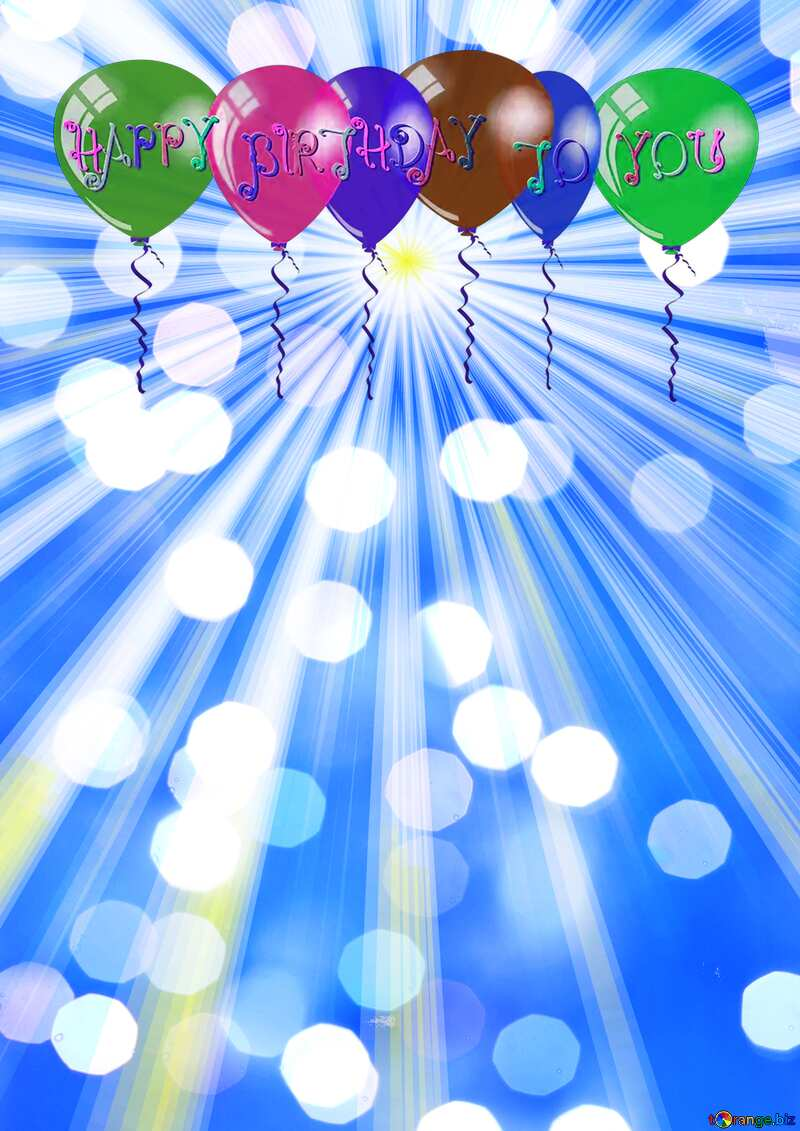 Happy Birthday Card Background №49660