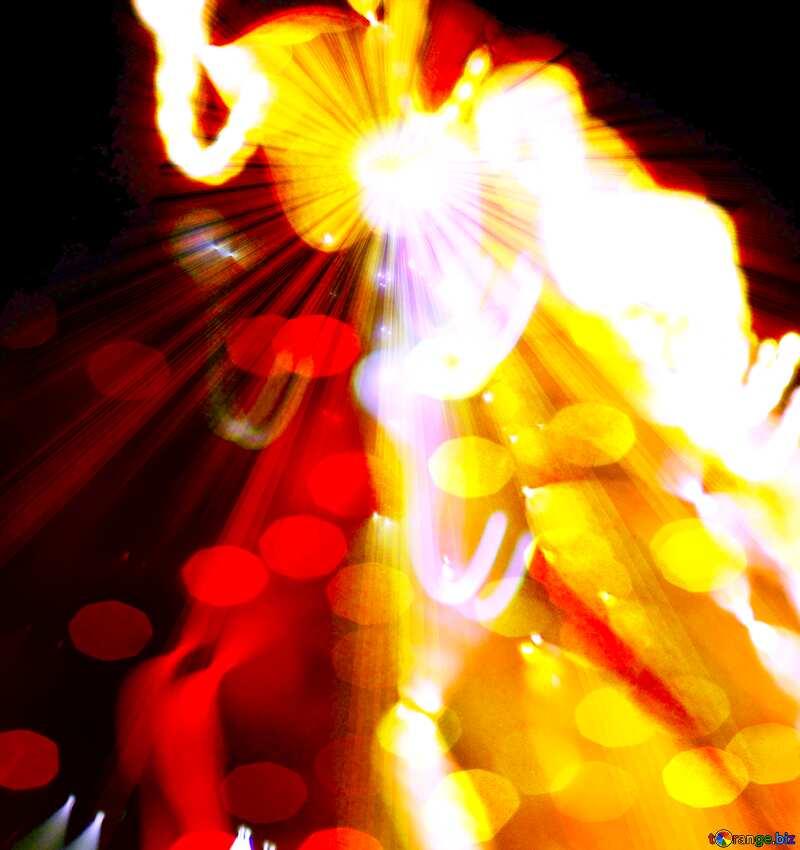 Road night light  Art Design Background №276