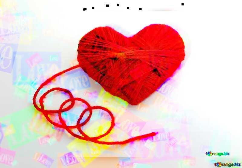 Valentine love card №16460
