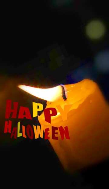 Die Wirkung von viel Licht. Sehr klare Farben. Unschärfe Rahmen. Bruchstück. Happy halloween.