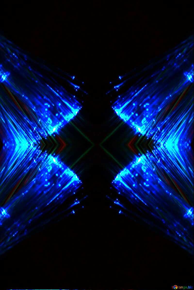Blue light №25870