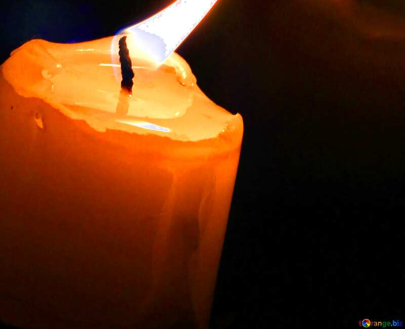 Cover. Candle in the window. №18138