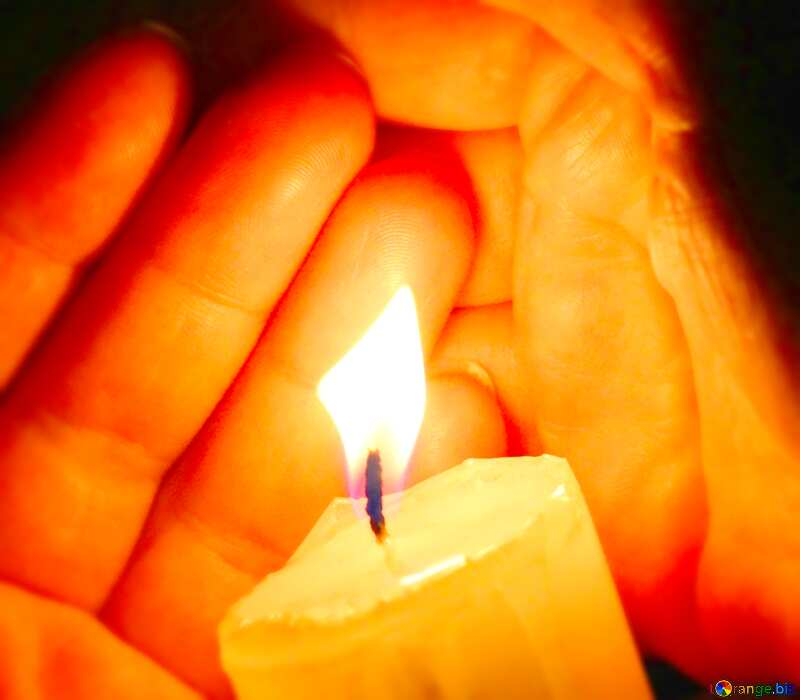 Image for profile picture Candle hand Palm. №18115