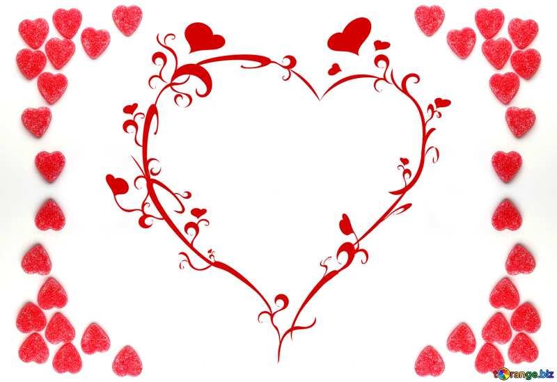Love frame №18758