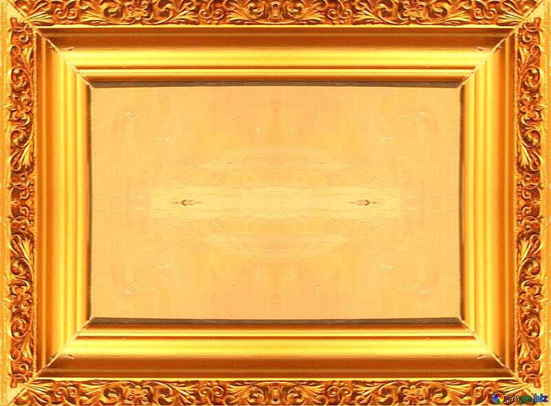Old gold picture frame №23488
