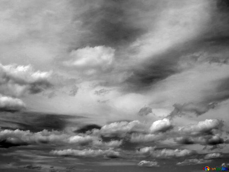 Cloudy sky gray image №24212