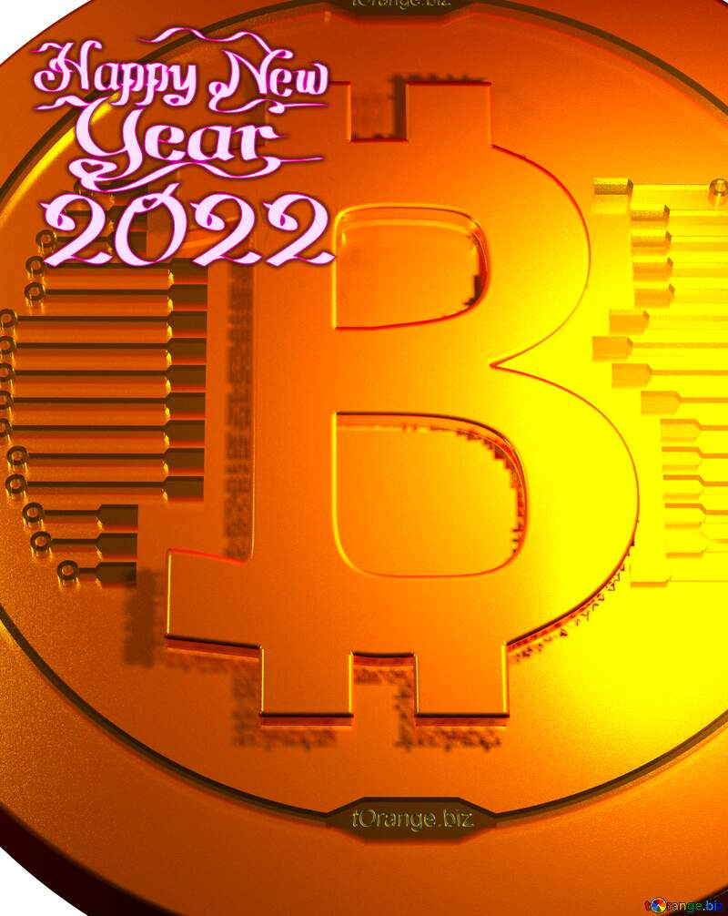 Bitcoin gold happy new year 2021 №51518