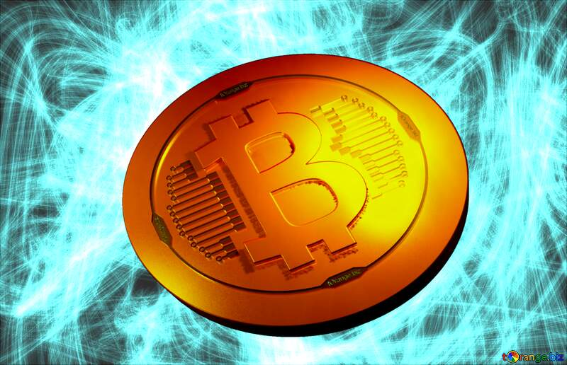 Bitcoin gold light coin Background chaos №40643