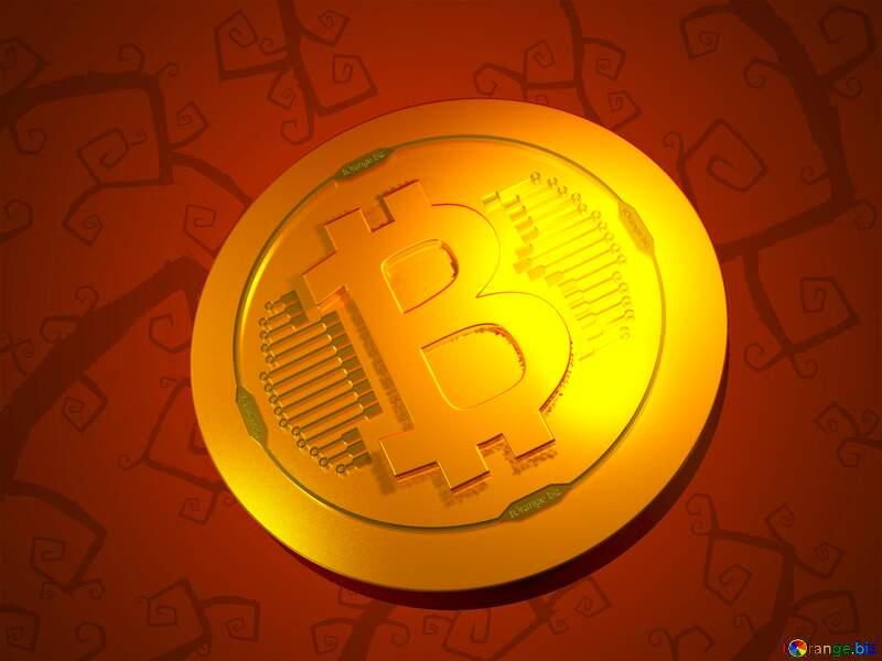 Bitcoin gold light coin Very Halloween background №40593