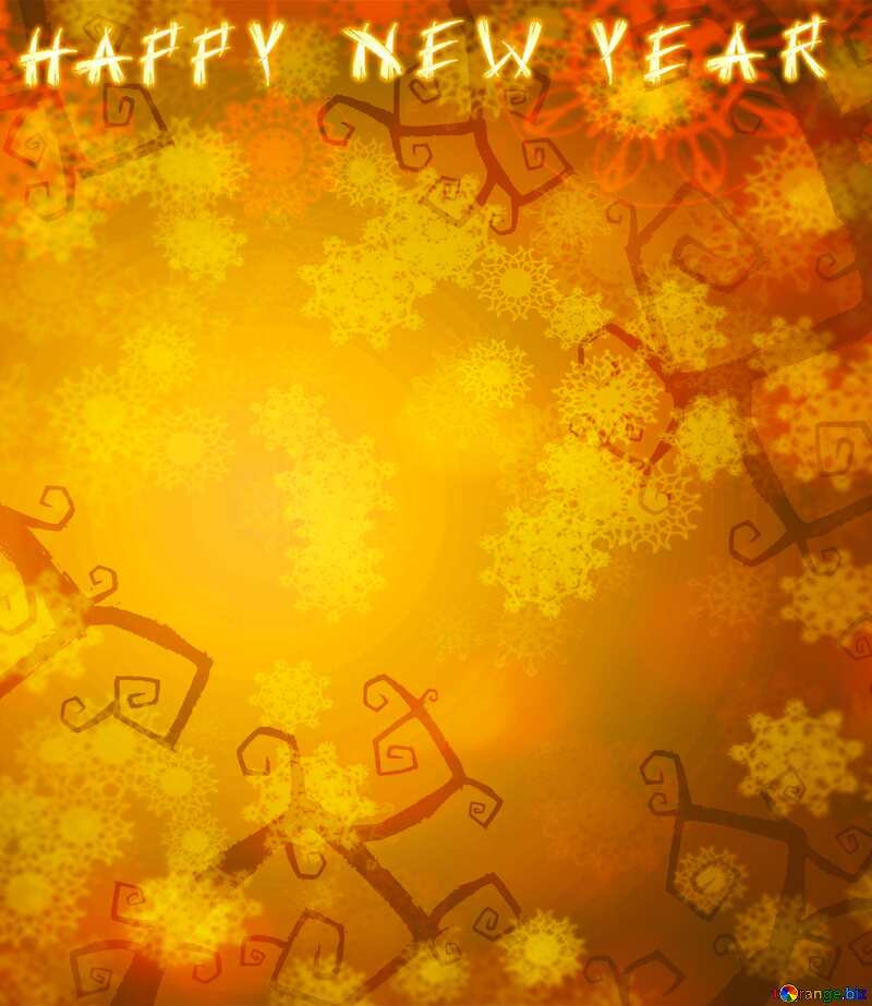Happy New Year  Halloween style  background №40593