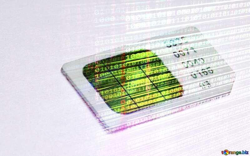 mobile phone card №17385
