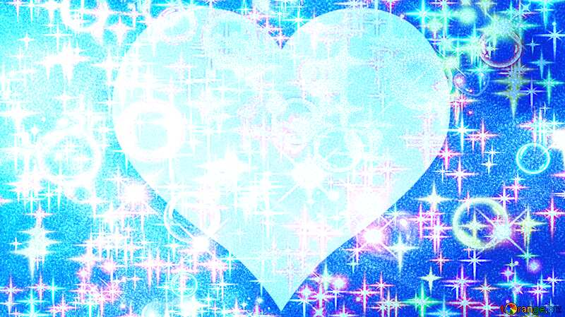 Blue love  background №40636