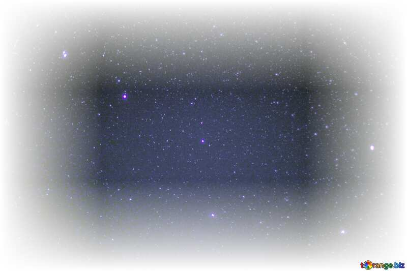 Stars  sky white frame around №44731