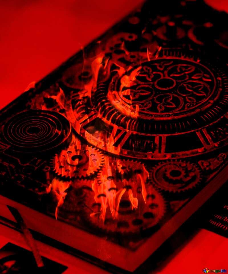 Steampunk time magic book №48981