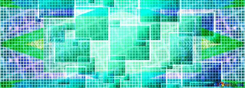 Technology banner  abstract background №49678