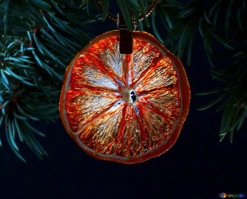Christmas orange №48135