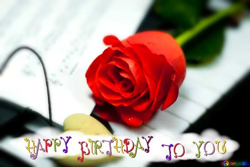 happy birthday card №7200