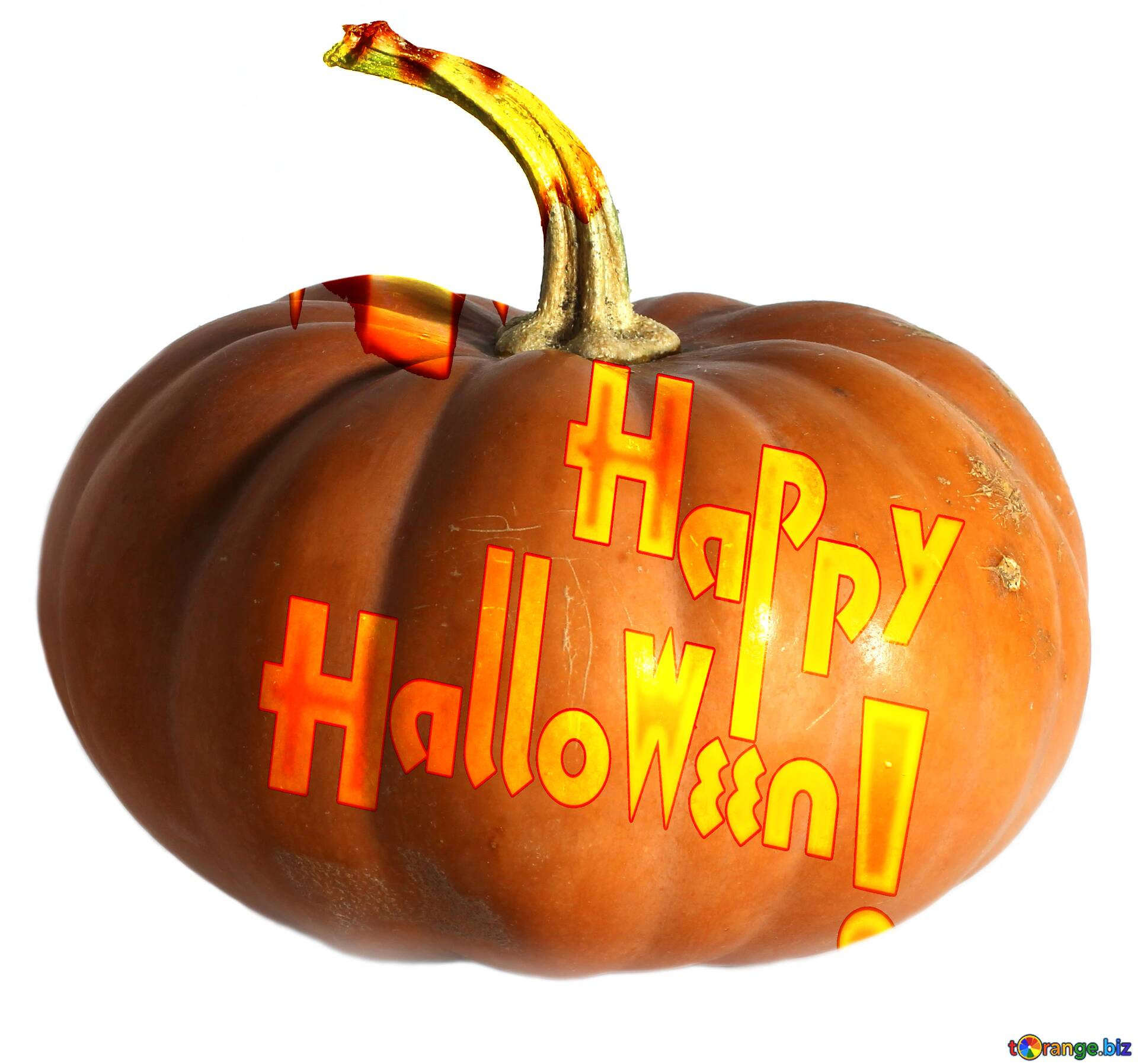 Download Free Picture Happy Halloween Lettering Inscription Isolated Pumpkin On Cc By License Free Image Stock Torange Biz Fx 182564