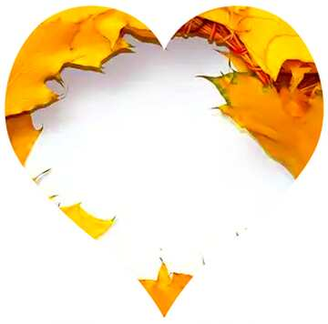 Very Vivid Colours. Fragment. Love illustration of a heart-shaped.