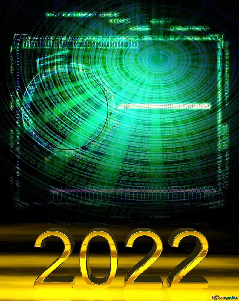 2022 gold digits Futuristic Science Technology №49679