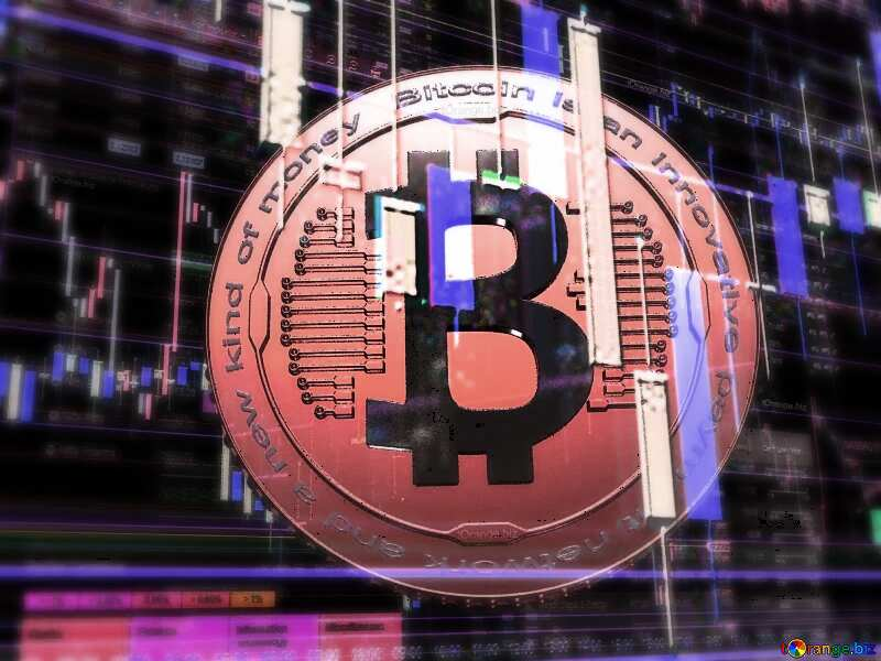 Bitcoin Horizontal background. №51519