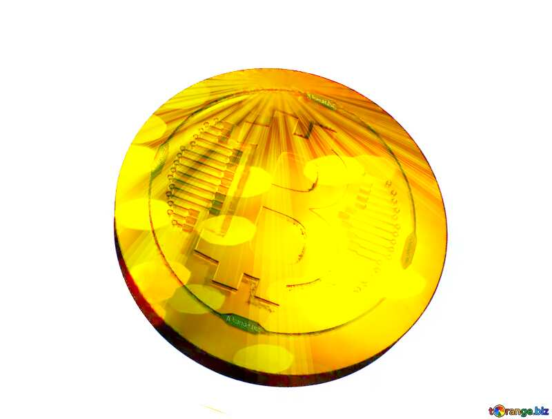 Bitcoin gold Rays coin №51518