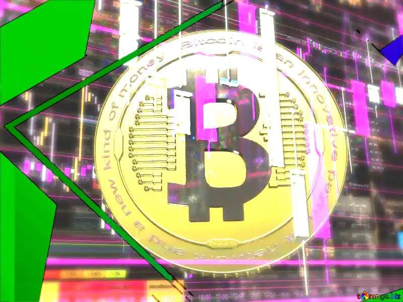 Bitcoin Template Illustration Frame №51519