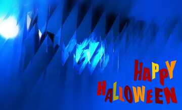 The effect of the mirror. The effect of macro blurring the top and bottom. Happy halloween.