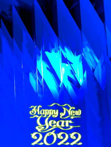 Very Vivid Colours. Fragment. Happy New Year 2020.