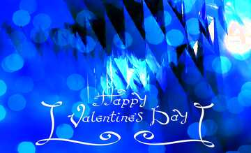 The effect of light. Vivid Colors. Happy Valentine's Day.