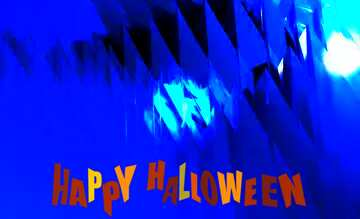 The effect of the dark. Very Vivid Colours. The template image with a heart. Happy halloween.