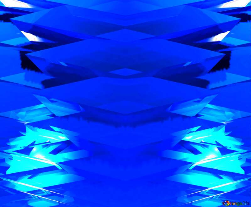 Abstract Futuristic Background Blue Template №51524