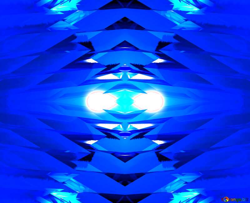 Abstract Pattern Blue №51524
