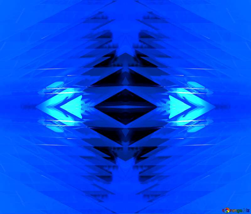Background Shape Futuristic Computer Abstract Blue pattern №51524