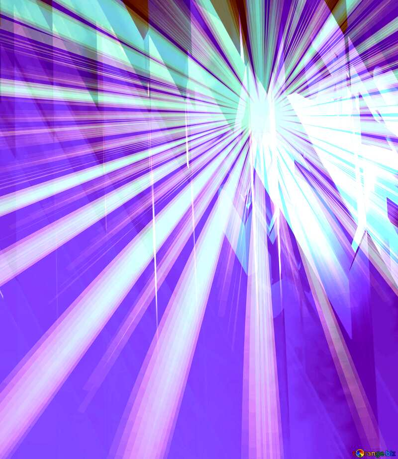 Blue futuristic shape. Computer generated abstract background. Rays Sunlight Beautiful №51524