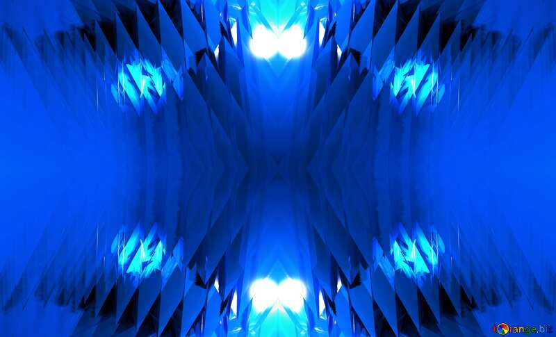 Computer Futuristic Blue Background Abstract Pattern №51524