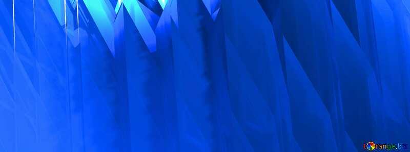 Futuristic Blue Background №51524