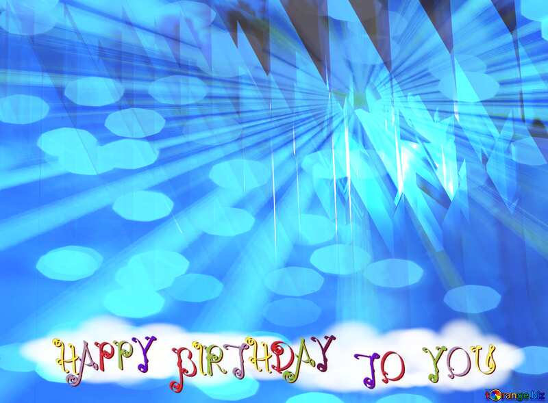 Greeting Happy Birthday Card №51524