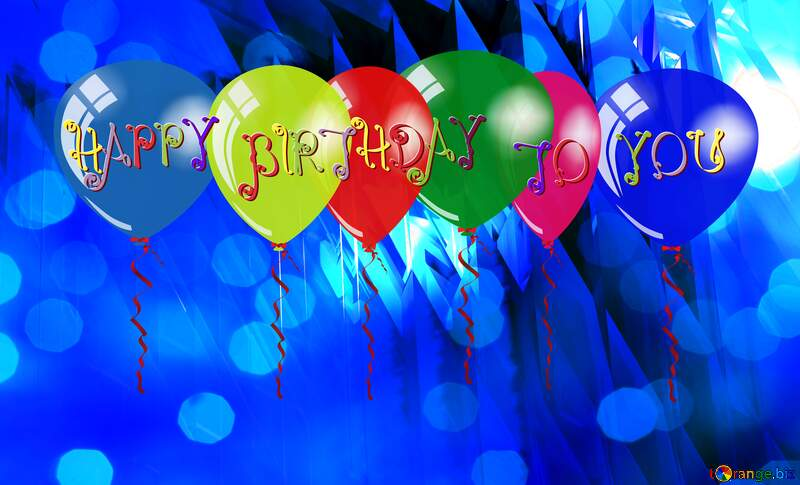 Happy Birthday Card Background №51524