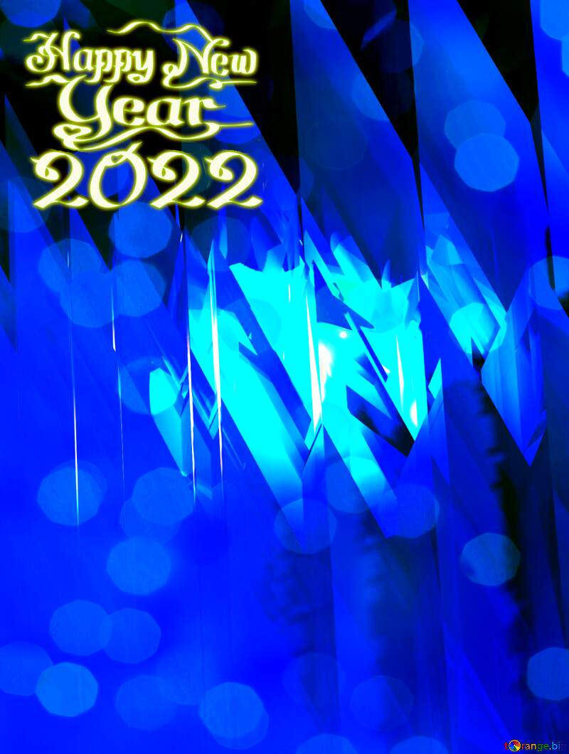 Happy New Year 2021 Card Background Futuristic Shape Computer Greetings Cards Abstract №51524