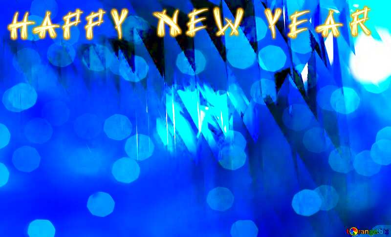 Happy New Year Background Christmas Card №51524