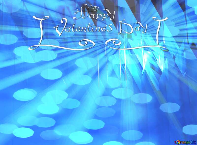 Happy Valentine`s Day Card Greeting Background №51524