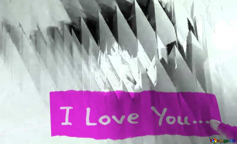 I You Love Inscription White And Black №51524